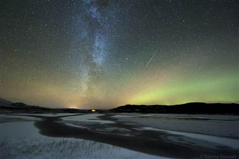 Orionid meteors wows weekend stargazers