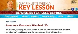 Guy Finley's Weekly Key Lesson