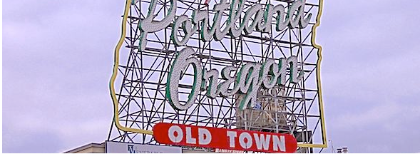 Portland Oregon - Old Town Marque