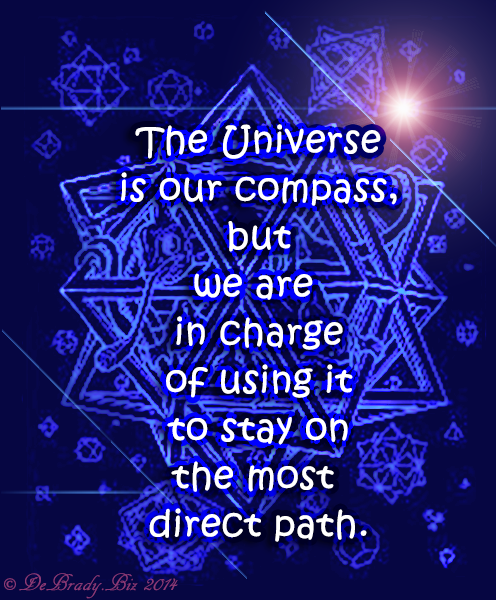 The Universe is our compass