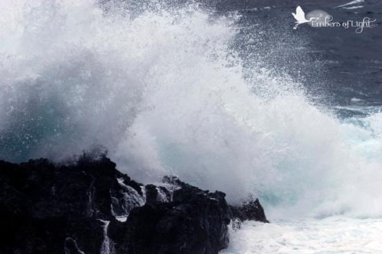Laupahoehoe park, wave